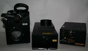 Melles Griot 543 a a02 Argon Ion 457 514nm 200mw Laser 176b Power Supply