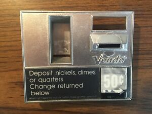 Vendo Soda Vending Machine Coin Insert Bezel Very Rare
