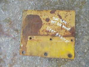 International Cub 154 Lo Low Boy Tractor Ih Side Plate Battery Box Tray Mount