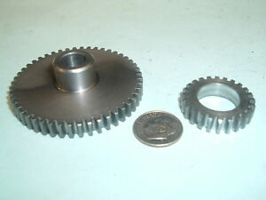 Model Hit And Miss Gasoline Engine Steel Timing Gear Set 24 48 Teeth