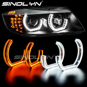 Led Angel Eyes Halo Ring For Bmw E90 E92 E93 E60 E82 F30 F31 M3 Dtm Lci M4 Style