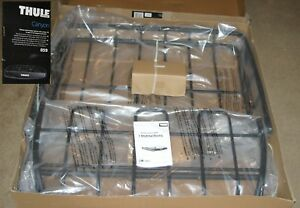 Thule Canyon 859 Car Roof Rack Cargo Basket 150 Lb 41 X 50 Black New In Box