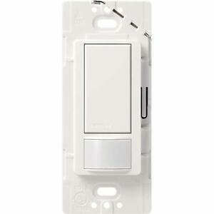 Lutron Maestro Motion Sensor Light Switch Electrical Home Single pole Switches