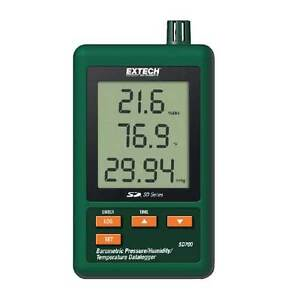 Extech Sd700 Barometric Pressure humidity temperature Datalogger With Sd Card