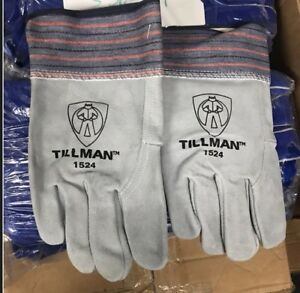 Tillman 1524 Work Gloves Large Select Split Cowhide