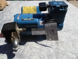 General Air Products Compressor Fire Sprinkler System Ol21533ac Oil Less 1 3hp