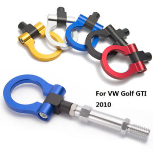 Racing Sport Car Towing Hook Racing Tow Bar Auto Trailer Ring For Vw Golf Gti 10