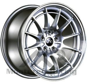 18x8 5 5x108 Jnc 033 Silver Machine Made For Ford Volvo