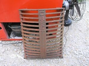 Case Tractor Grille Dc 3 Dc 4 Part 5358a Rat Rod