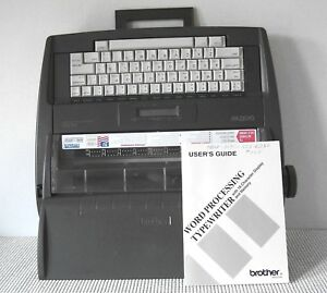 Brother Electronic Word Processing Typewriter Display Dictionary Spell Ax525
