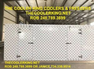 Walk in Cooler 80 w X 20 d X 10 h Bar Bakery Butcher Restaurant Grocery
