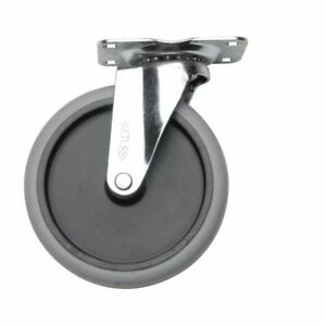 Swivel Caster Wheels For Durable Utility Cart 5 dia