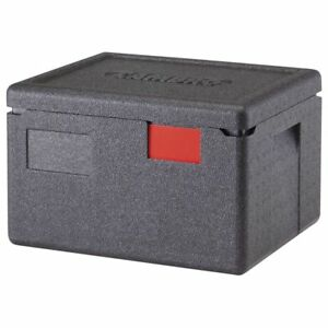 Cambro Epp260110 Cam Gobox Black Plastic Top Loading Half Size Pan Carrier 15