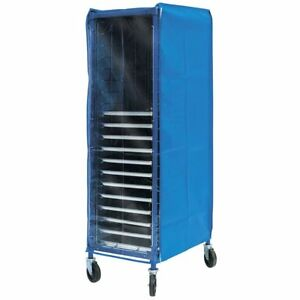 Coverall Worcester Pan Rack Cover Blue Vinyl 28 l X 23 w X 64 h
