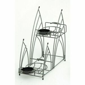 Airpot Thermal Coffee Dispenser Rack Holder For 2 Coffee Dispensers 9 1 3 L X