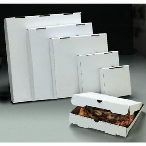 Pizza Box White 7 l X 7 w X 1 3 4 d 50 Per Case