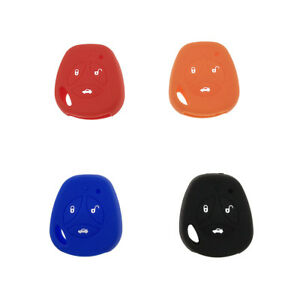1pc Silicone Car Key Fob Case Keyless Remote Shell For Lada Priora Sport Kalina