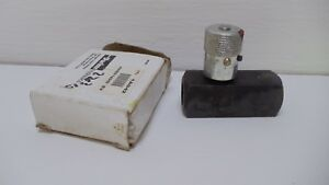 Parker F600s 1a042 Hydraulic Flow Control Valve 118v 5000psi New In Box