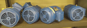 3 Hp Isgev Three Phase Electric Motor 70 Hz 480 Volt 2100 Rpm