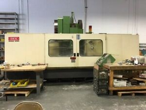 Okk Model Pcv 620 20l Cnc Vertical Machining Center With Mits M330 Control 1995