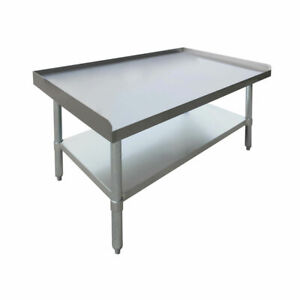 Hubert Kitchen Equipment Stand Stainless Steel 36 l X 24 w X 24 h