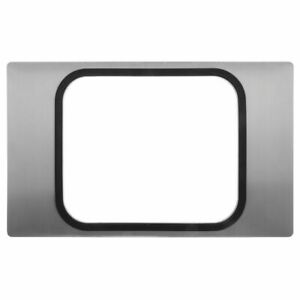 Hot Food Bar Tile With Roasting Pan Cut out Satin Stainless Steel 21 L X 12