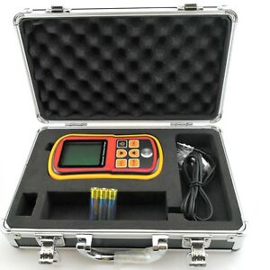 Gm100 Digital Lcd Ultrasonic Thickness Meter Tester Gauge Metal Testering Width