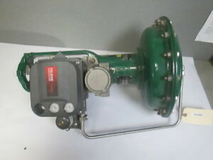 Fisher Ez 657 Actuator For Fuel Oil Forwarding Pump Recirculation Control Valve