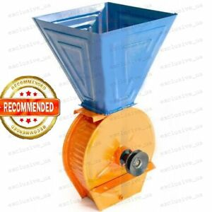 Feed Mill Grinder Wheat Beans Corn Grain Oats Crusher Without Motor 75 Kg h