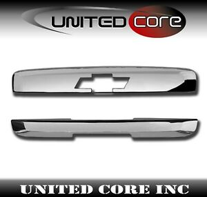 Chevy Tahoe Suburban Chrome Liftgate Tailgate Wiper Window Handle Cover 07 14