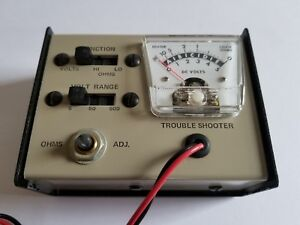 Vintage Dc Volts Ohms Meter Manufactured By Keystone Electronics