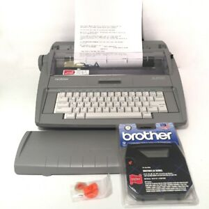 Brother Sx 4000 Electronic Typewriter Lcd Display Dictionary Correction B