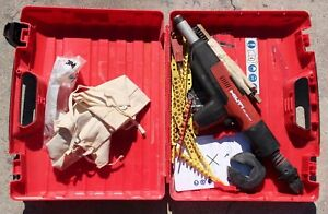 Hilti Dx 351 ct Powder Actuated Tool With Case No Poles