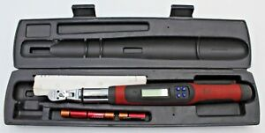 Snap On Tools Tech1fr240 1 4 Drive Electronic Digital Torque Wrench