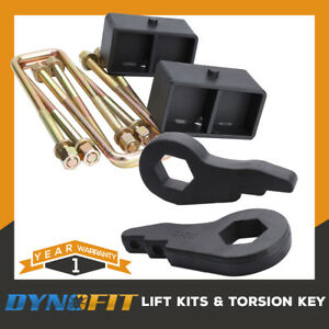 1988 1999 Chevy Gmc K1500 4wd 3 Front 3 Rear Pro Full Lift Leveling Kit