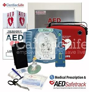 Philips Onsite M5066a Standard Carry Case spare Room W Alarmed Aed Cabinet