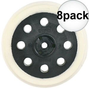 Bosch Rs030 5 Extra Soft Hook And Loop Replacement Pad 8x New