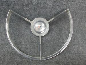 1956 Ford Steering Wheel Horn Ring Master Guide Power Steering Fdr 3624 3
