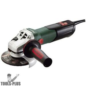 Metabo Wev15 125 Ht 13 5a 5 Grinder W Vtc Lock on Switch 600562420 New