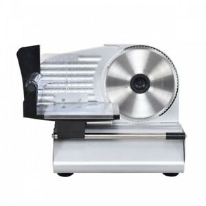 Red Meat Slicer Stainless Steel Electric Machine Cutter Deli Heavy Duty 7 5 In