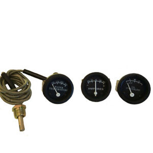 For John Deere 50 60 70 80 Oil Amp Temp Gauge Set Lighted Ships From Usa