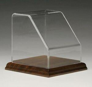 Angled front Acrylic Box Case To Display Sports Memorabilia Rocks Minerals