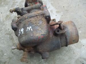 Farmall M Mv Early Sm Ih Tractor Engine Motor Carburetor Assembly Ihc