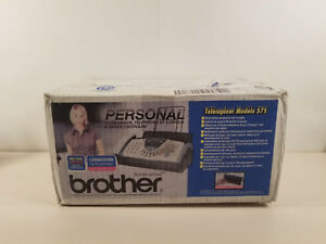 New Personal Fax Phone And Copier By Brother Fax 575 Quick 10 Page Scan