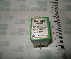 Electronic Dimmer Type Ac220v Kt Electric Kte Marine Store Spares