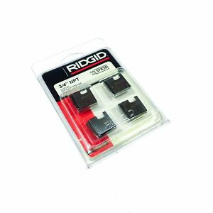 Ridgid 37830 3 4 12r Npt Pipe Threading Dies