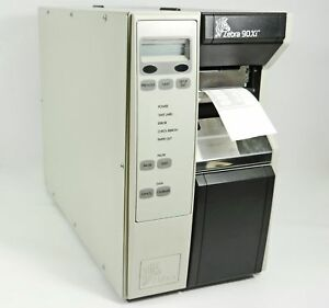 Zebra 90xi Thermal Barcode Label Tag Printer Parallel Centronics