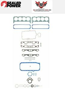 Chevy Sbc 350 5 7 Felpro Sealed Power Overhaul Gasket Set 1996 2002