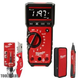 Milwaukee 2220 20 4pc Electrical Test And Measurement Combo Kit New