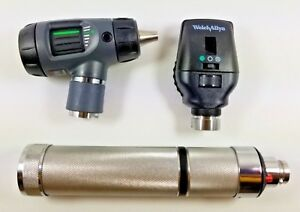 Welch Allyn 3 5v Diagnostic Set 23810 Macroview Otoscope 11720 Ophthalmoscope